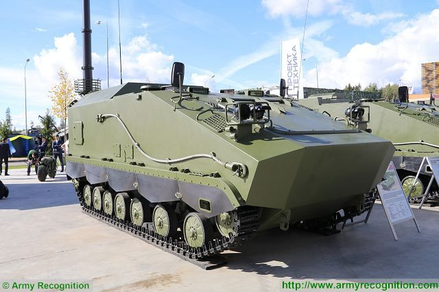 Minotor Company from Belarus has developed new light tracked multipurpose vehicle Breeze 640 001