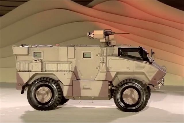 NIMR N35 4x4 armored and SOV Special Forces vehicles entered in service with UAE Army 640 002
