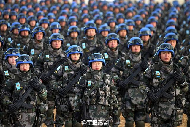 New battalion of 700 Chinese UN peacekeepers will be deployed in South Sudan 640 001