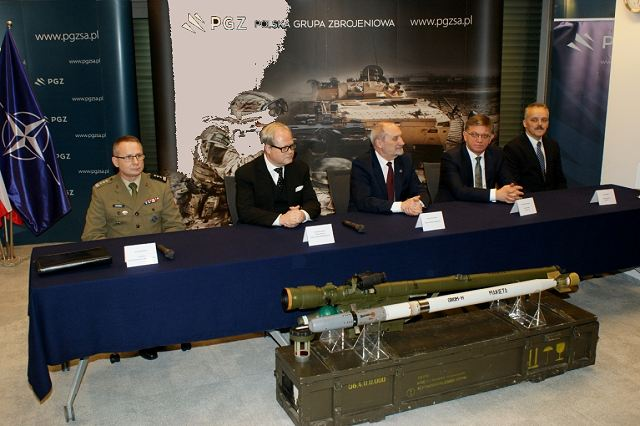 Poland has signed a 211 million Euro agreement to purchase Piorun man-portable air defense systems 640 001