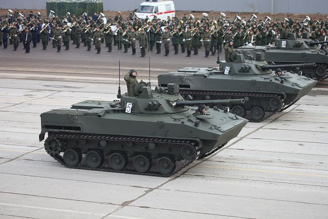 Russian airborne force academy has received BMD-4M and BTR-MDM airborne armored vehicles 640 001