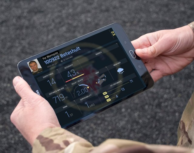 SAAB develops new individualized training app for soldiers 640 001