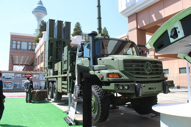 Turkey has tested local-made HISAR-O medium-altitude air defense missile system 640 001