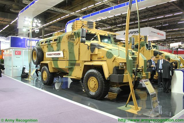 Turkish Company BMC to deliver Kirpi MRAP vehicles to Tunisia and Pakistan 640 002
