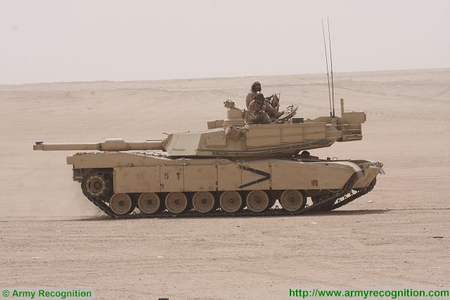 US foreign sale contract for recapitalization of 218 M1A2 main battle tanks of Kuwai 640 001