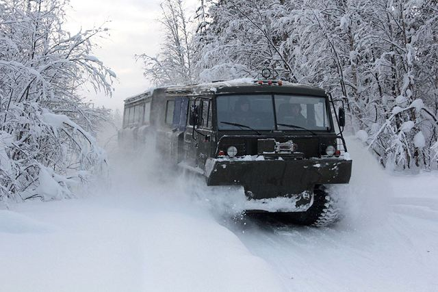 Defense Ministry of Russia has completed testing new military equipment for Arctic Region 640 001