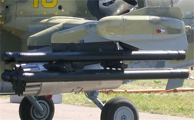 Egypt first international customer for Russian 9A1472 Vikhr-1 AT-16 Scallion anti-tank guided missile 640 001