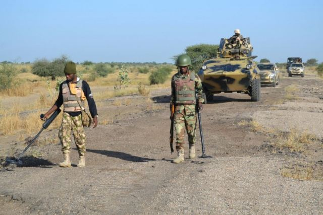 Nigerian army has deployed new hi-tech mine clearing equipment against Boko Haram 640 001