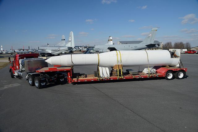 Northrop Grumman contract for modification of US Minuteman III Intercontinental Ballistic Missile 640 001