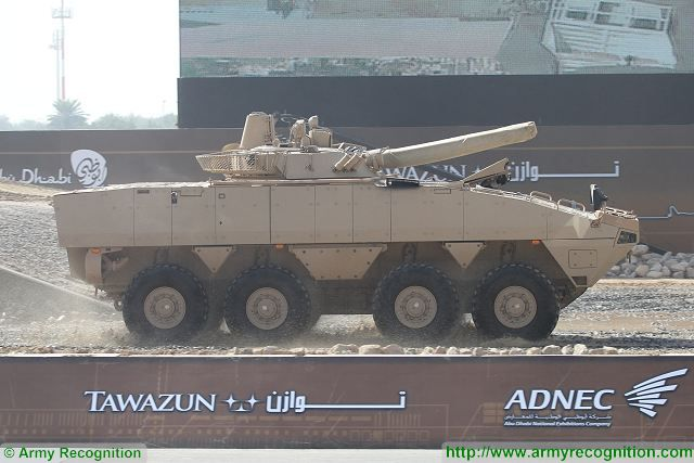 The General Headquarters of the United Arab Emirates' Armed Forces has ordered Patria AMV 8x8 armoured wheeled vehicles. All details of the contract are classified. The Patria AMV (Armored Modular Vehicle) is an 8x8 multi-role military vehicle designed and manufactured by the Finnish defence industry company Patria.