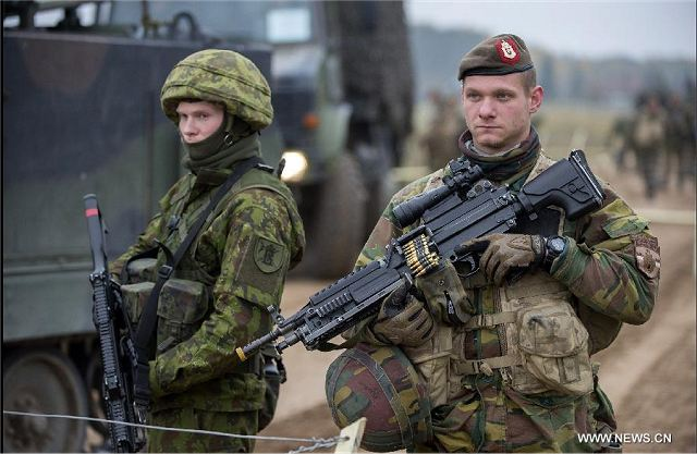 Belgium to send 150 soldiers in Lithuania to enhance military presence of NATO Forces in the east 640 001