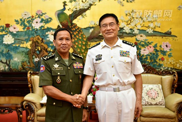 China would like to strengthen military cooperation with Cambodia 640 001
