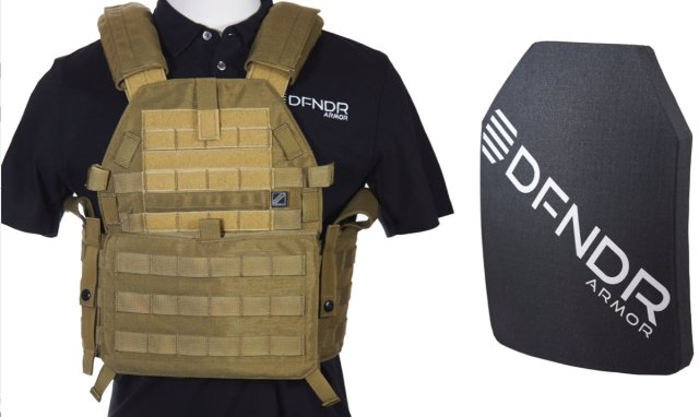 DFNDR Armor selects Honeywell Spectra material for new Military and Law Enforcement Body Armor 640 001