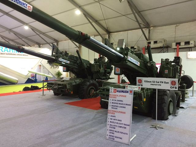 DRDO of India has performed firing test of its new local-made 155mm towed gun system ATAGS 640 001