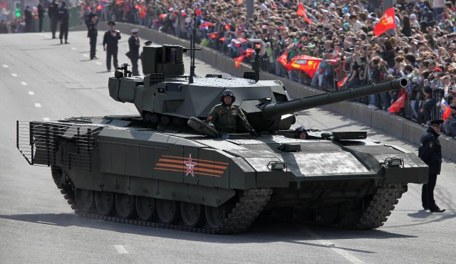 Full-scale production of  he T 14 Armata Main Battle Tank to begin in 2018 640 001