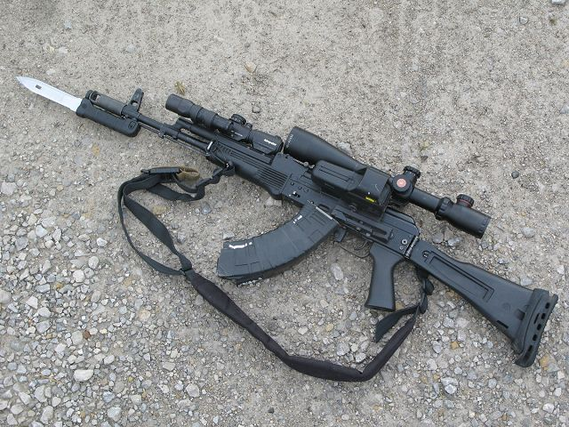 Indian army could purchase additional batch of Kalashnikov AK-103 assault rifles 640 001