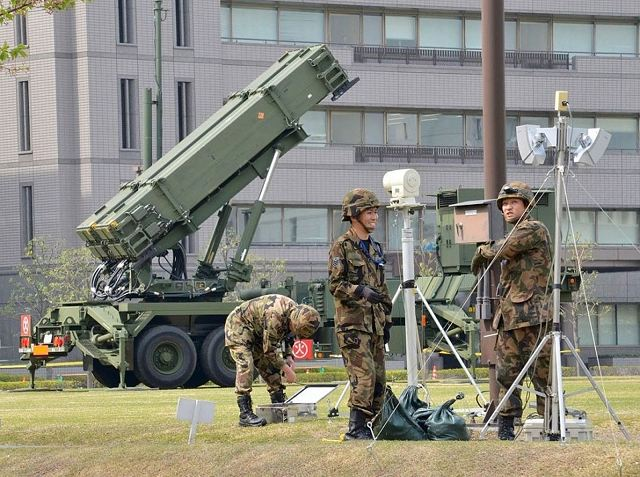Japan to upgrade its Patriot PAC-3 air defense missile system to increase range and accuracy 640 001