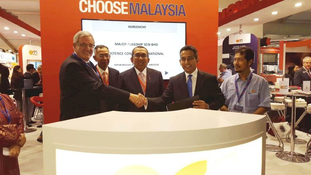 Major Flagship and DCI agrees to create an helicopter training academy in Malaysia 640 001