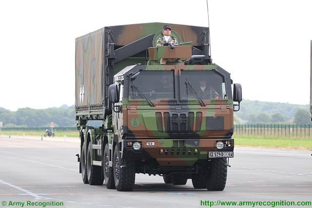 PPLOG Porteur Polyvalent LOGistique Multirole Carrier Logistics Vehicle Iveco 8x8 truck France French army military equipment 640 001