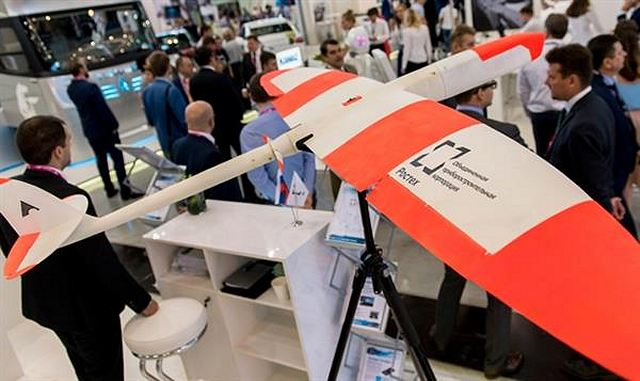 Russian industrial company ROSTEC showcases first drone manufactured by 3D printer 640 001