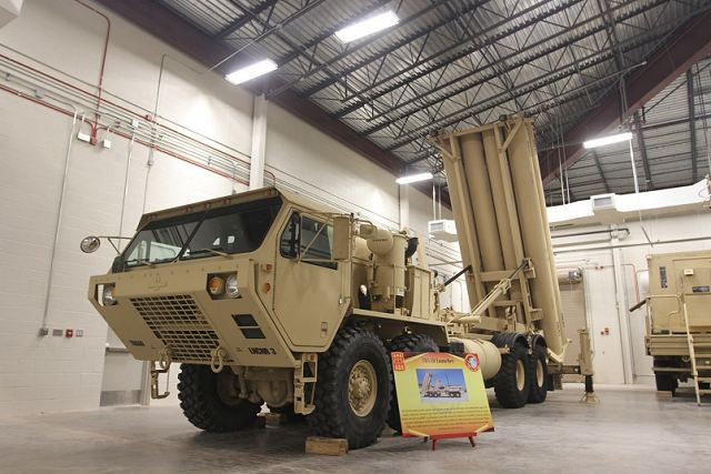 South Korea and United States are in the final stages to deploy THAAD air defense missile system 640 001