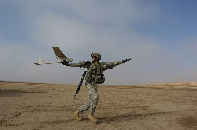 Ukraine armed forces take delivery of 24 RQ-11B Raven-B UAVs from United States 640 001