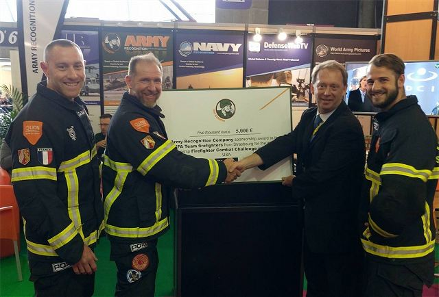 Army Recognition sponsors French Firefighters for the World Firefighter Combat Challenge in United States 640 001