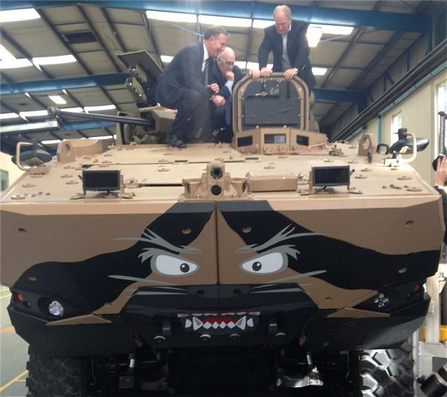 Elphinstone Group unveils prototype of armoured vehicle for Australian tender Land 400 phase 3 640 001