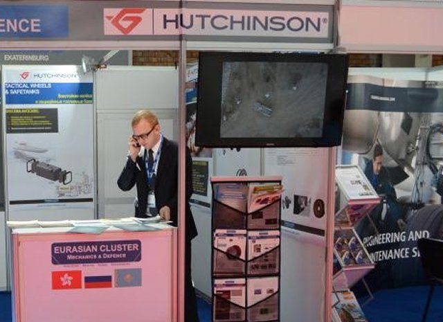 French company Hutchinson exhibits at KADEX 2016 in Kazakhstan 640 001