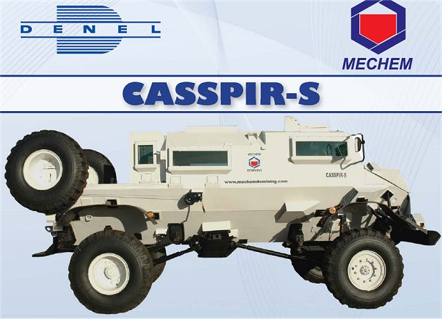 Denel Mechem South Africa develops short version of Casspir APC under the name of Casspir-S 640 001