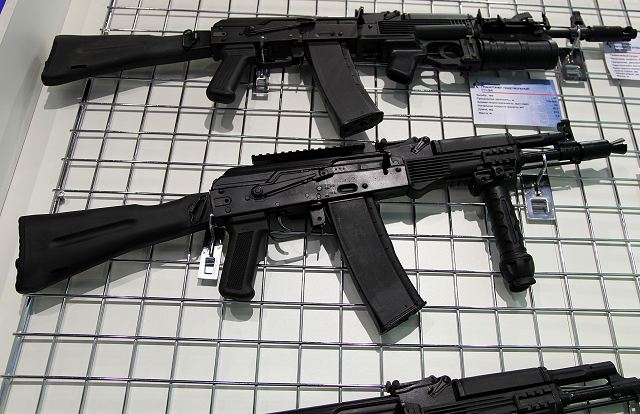 India could produce Russian-made AK-100 series assault rifles under license 640 001