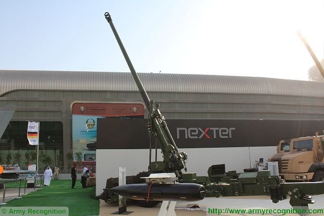 Nexter submitted its final bid for Indian Artillery pitching its Trajan and Caesar howitzers 640 001