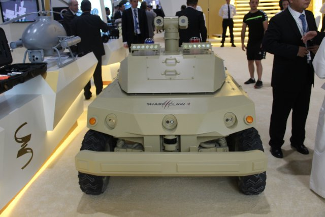 Norinco presents its SHARP CLAW 2 Unmanned Ground Vehicle at ISNR 2016 640 001