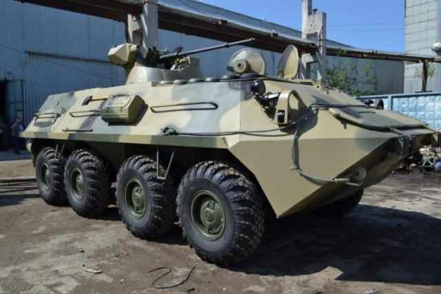 Russia to upgrade its BTR 82A armoured personnel carriers to BTR 87 640 002
