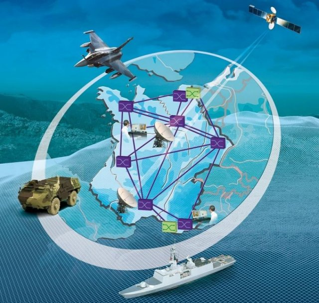 Thales will upgrade all French MoD s data and telephony infrastructure networks 640 001