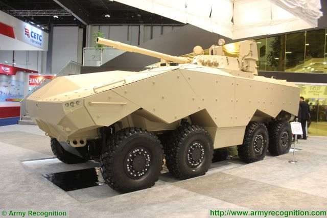 Trials of new Enigma 8x8 armoured designed in UAE fitted with BMP-3 turret will started in 2017 640 001