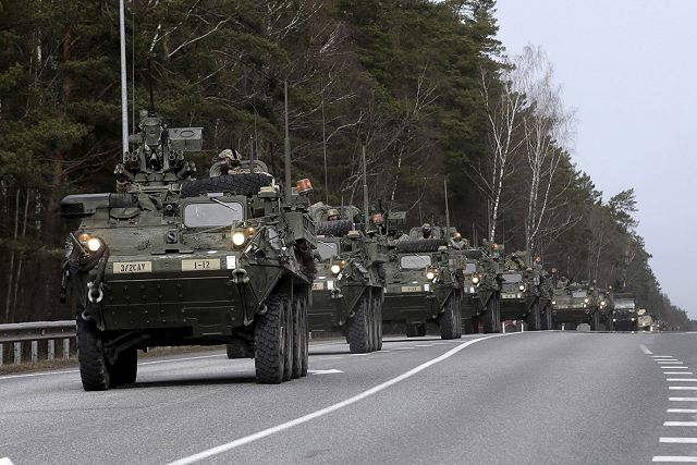 US Army to increase number of troops with Armourd Brigade Combat Teams in Eastern Europe 640 001
