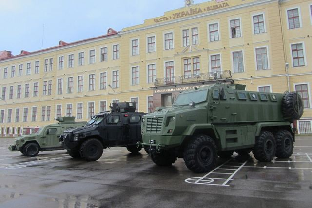 AutoKrAZ of Ukraine presents latest innovations of combat vehicles at Technical Forum 640 001