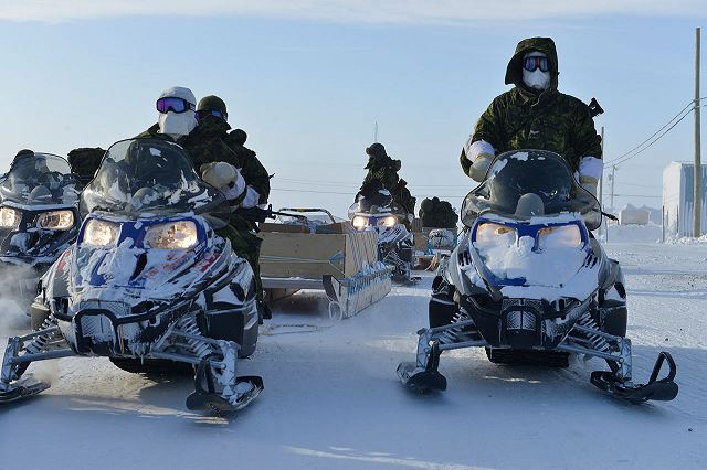 Canadian army would like to boost its military presence in the Arctic Region 640 001