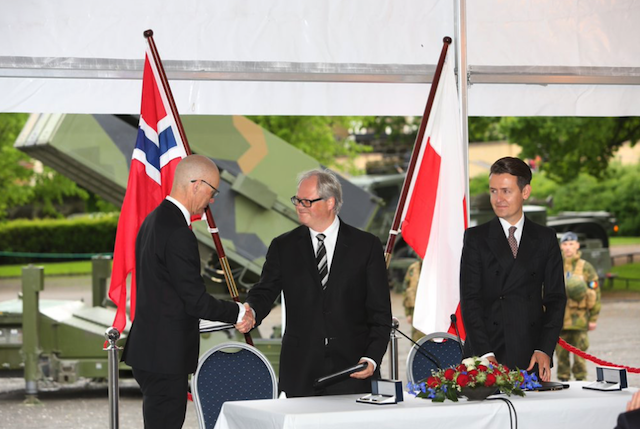 Kongsberg signs agreement with Polish Armaments Group