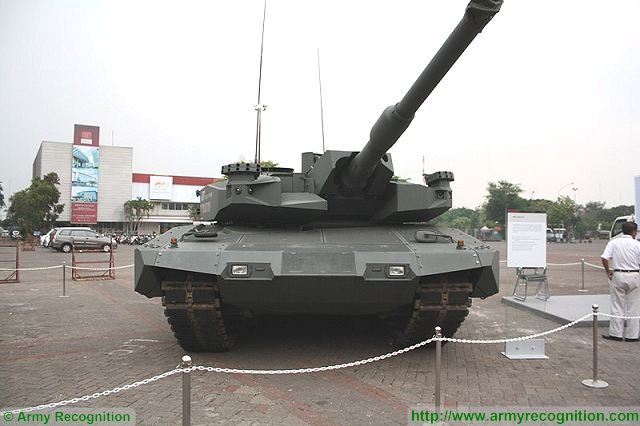 Leopard 2A4 tanks for Indonesia will be fitted with the Revolution urban warfare package 640 001