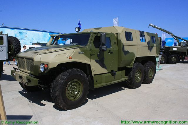The Military-Industrial Company (Russian acronym: VPK, Voyenno-Promishlennaya Kompaniya) is developing VPK-39273 Volk-3 (Wolf III) 6x6 wheeled armoured car (AC), according to a source within Russian defense industry.