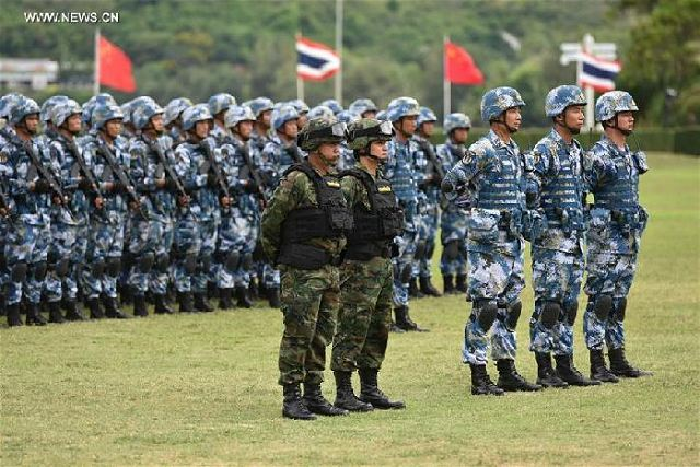 Thai, Chinese PLA Marines in Joint Exercises in The Land Forces Forum