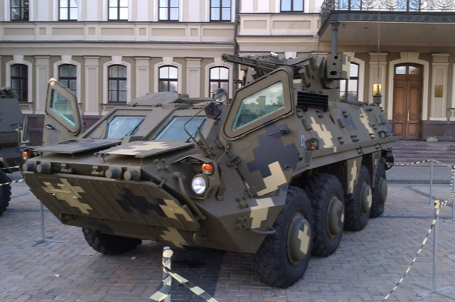 UKROBORONPROM speeds up BTR4 Armored Personnel Carrier APC production 640 001