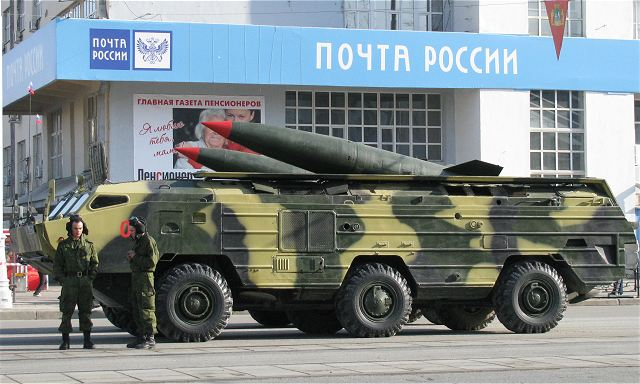 Russia's Missile, Rocket and Tube Artillery Corps will fully replace the Tochka-U (NATO reporting name: SS-21 Scarab-B) tactical ballistic missile system with the Iskander-M (SS-26 Stone) complex by 2020, Corps Commander Lieutenant-General Mikhail Matveyevsky said.