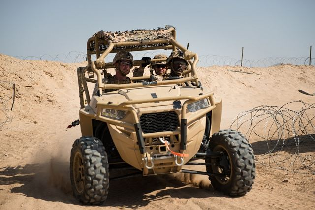 Contract Polaris Defense from US Marine Corps to deliver 144 four-seats MRZR all-terain vehicles 640 001