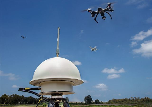 Elbit Systems from Israel unveils new ReDrone system to protect closed air spaces 640 001