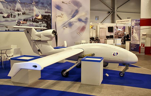 Irkut from Russia has launched test of new unmanned aerial vehicle under the Proryv program 640 001