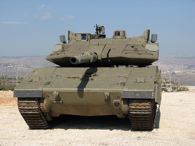 Israel to purchase hundreds of Rafael Trophy protection systems for Merkava tanks and Name APC 640 001
