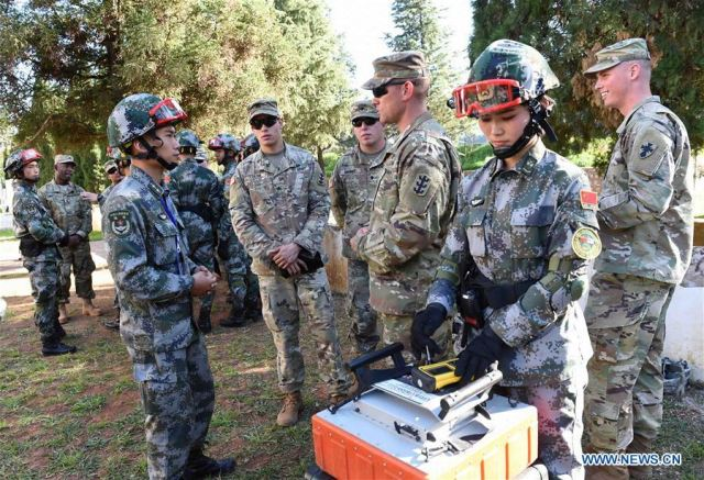 Joint humanitarian aid disaster relief drill in China for US and Chinese soldiers 640 001